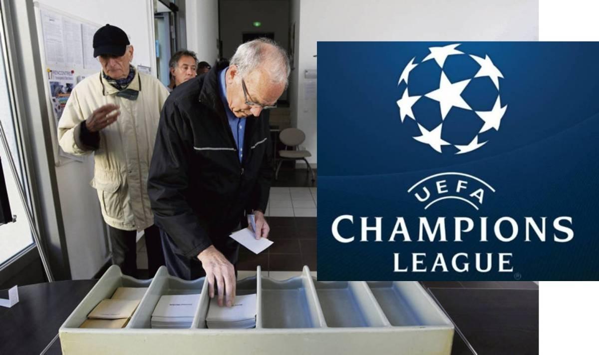 Elections européennes : la musique de la Ligue des Champions jouée dans tous les bureaux de vote à Marseille